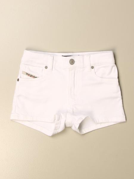 Diesel kids: Diesel jeans shorts in 5-pocket denim