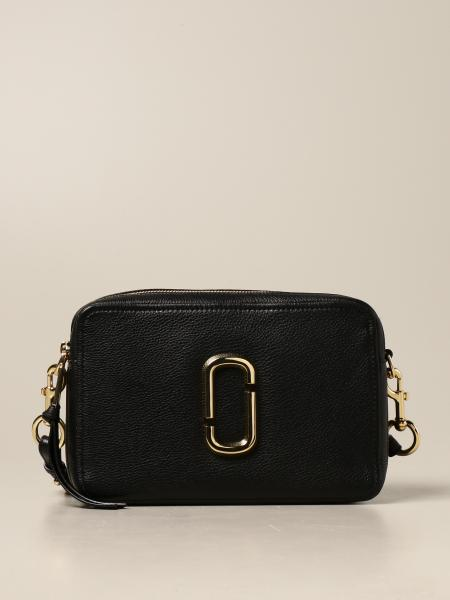 Marc Jacobs: Borsa The Softshot 27 Marc Jacobs in pelle martellata