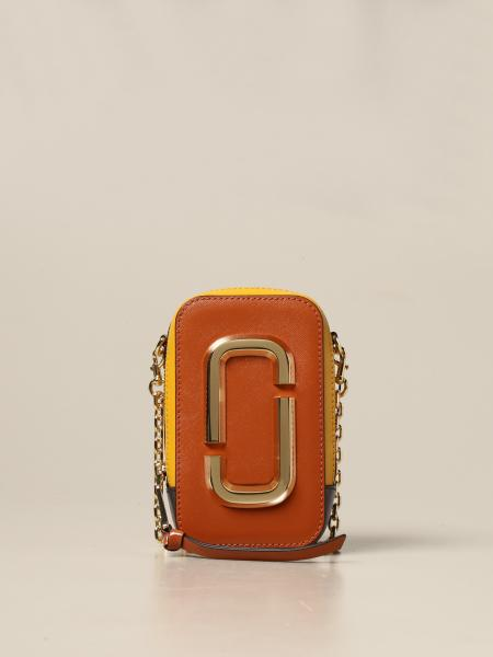 Marc Jacobs: Borsa The Hot Shot Marc Jacobs in pelle saffiano