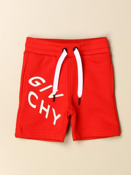 Givenchy cotton jogging shorts with logo