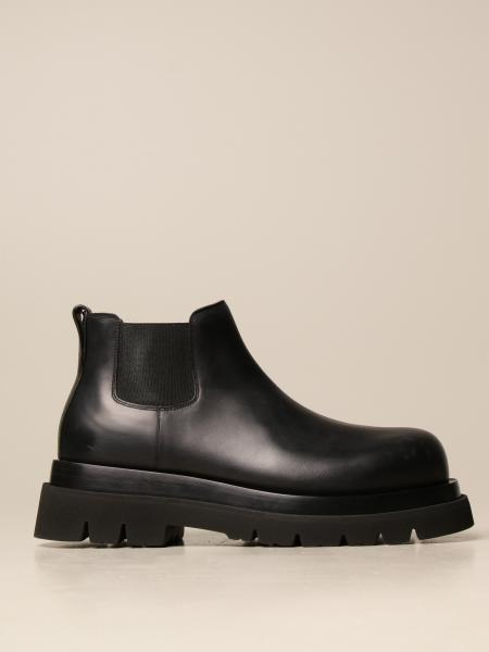 Bottega Veneta BV Lug Chelsea boot in leather