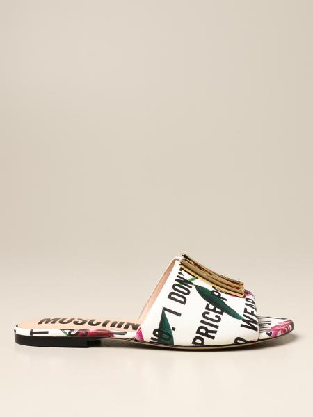 Flat sandals women Moschino Couture