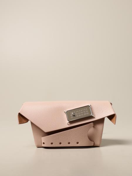 Maison Margiela: Snatched Maison Margiela shoulder bag in textured leather