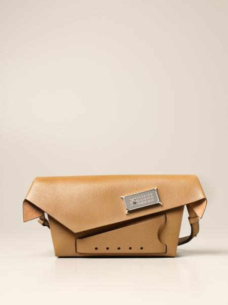 Maison Margiela: Snatched Maison Margiela shoulder bag in grained leather