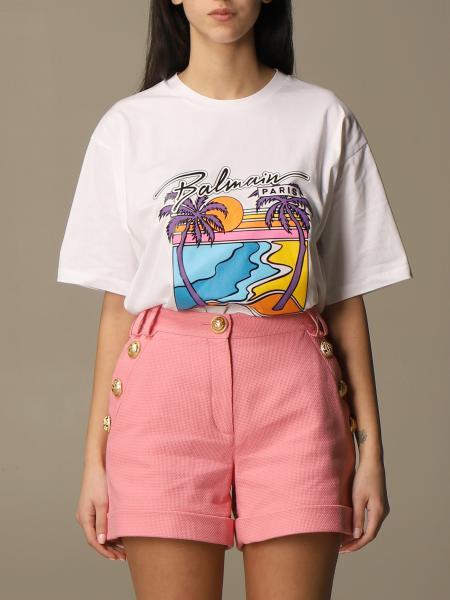 Balmain women: T-shirt women Balmain
