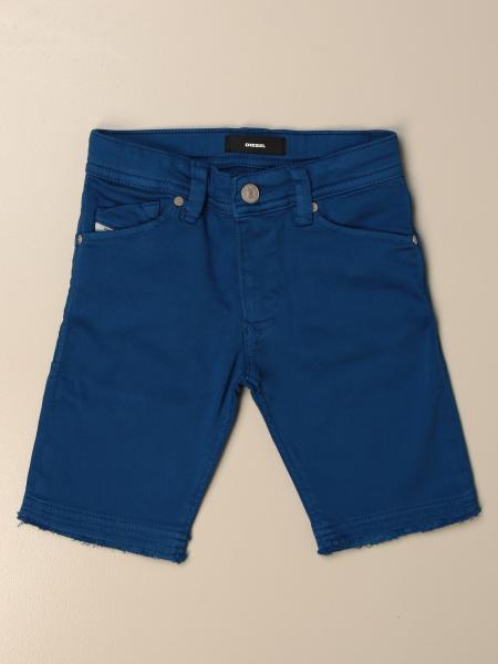 Pantaloncino di jeans Diesel in denim a 5 tasche