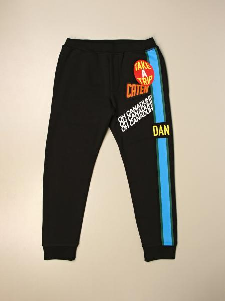 Dsquared2 Junior kids: Dsquared2 Junior jogging trousers with prints
