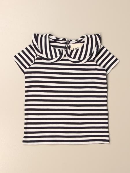 Douuod t-shirt in striped cotton