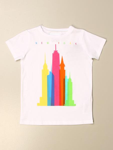 T-shirt Douuod in cotone con stampa