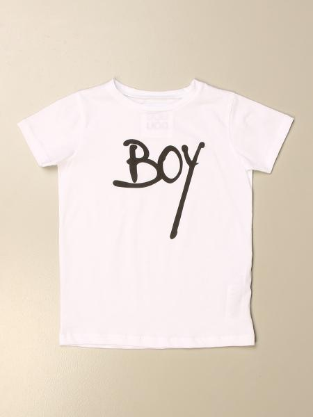 T-shirt Douuod in cotone con stampa boy