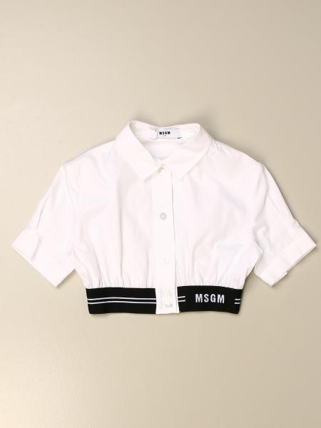 Camisa niños Msgm Kids
