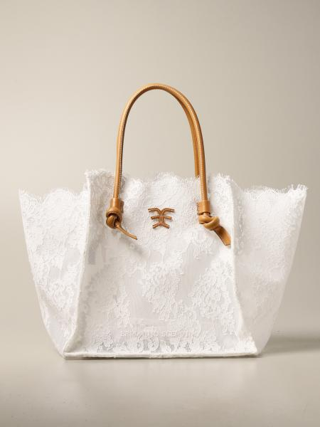 Ermanno Scervino: Ermanno Scervino shopper bag in lace