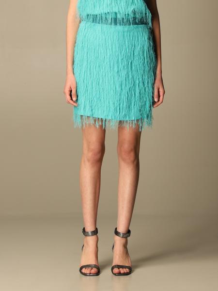 Pinko fringed skirt
