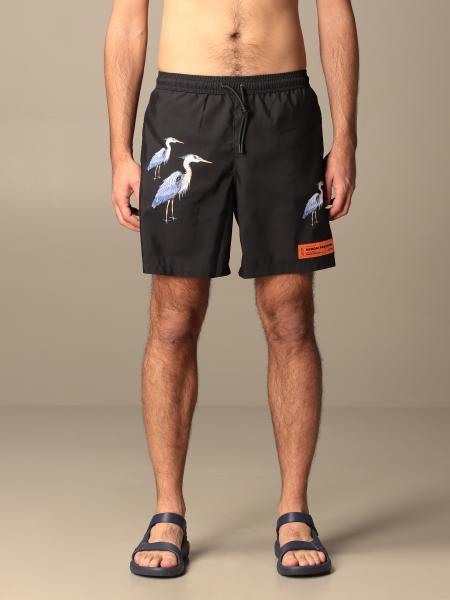 Costume a boxer Heron Preston in nylon con logo