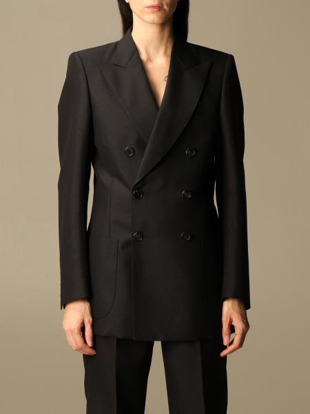 Maison Margiela: Margiela double-breasted jacket with structured shoulders