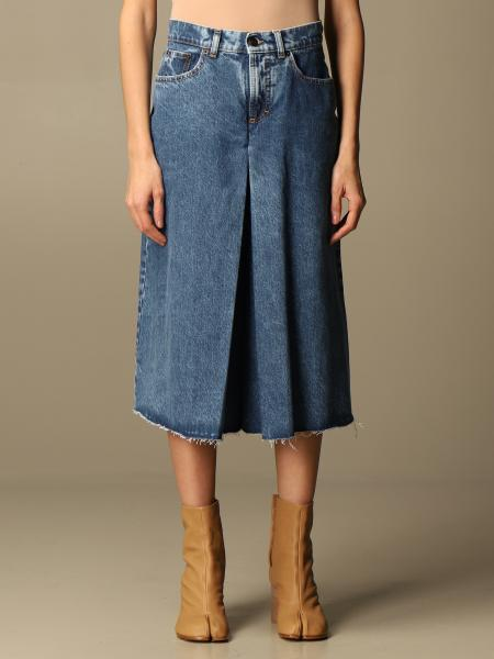 Gonna di jeans Maison Margiela ampia