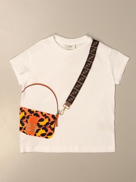 Camisetas niños Fendi