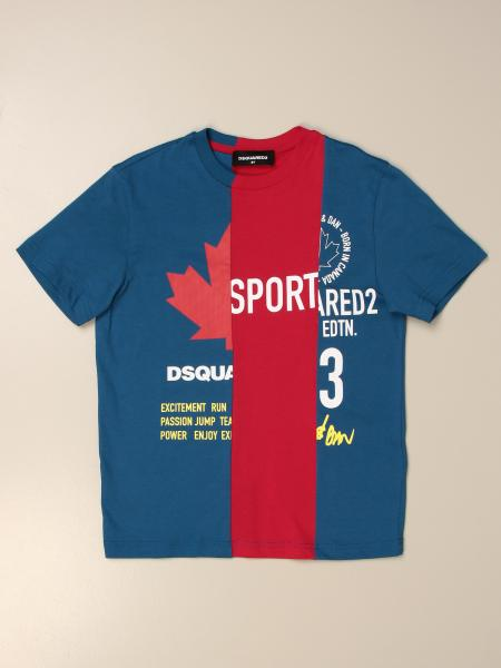 Dsquared2 Junior T-shirt in cotton with logo print