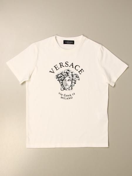 Versace Young T-shirt with Medusa head