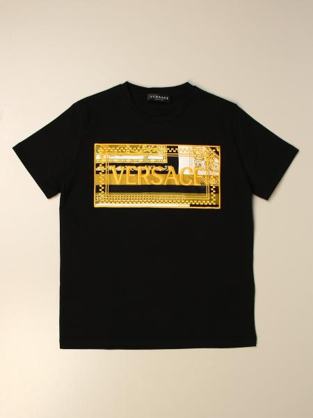 Versace Young t-shirt with baroque logo