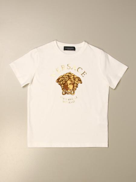 Versace cotton T-shirt with Medusa head