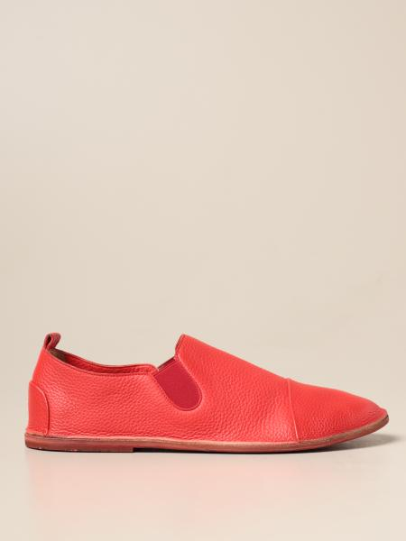 Marsèll moccasin in grained leather