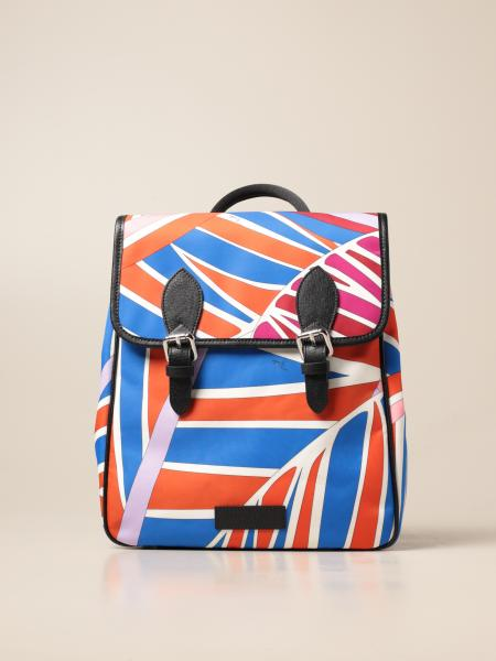 Emilio Pucci: Emilio Pucci patterned backpack