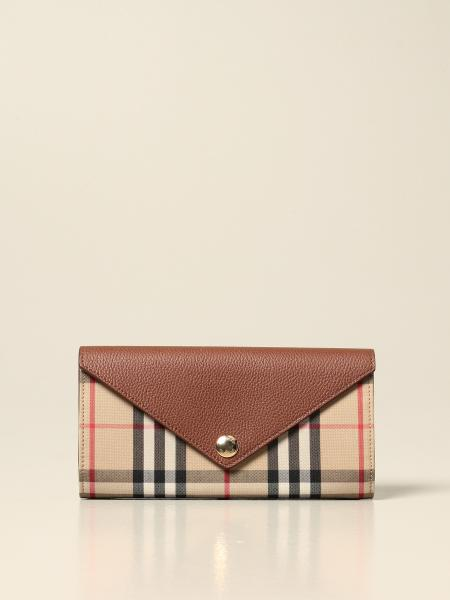 Portefeuille femme Burberry