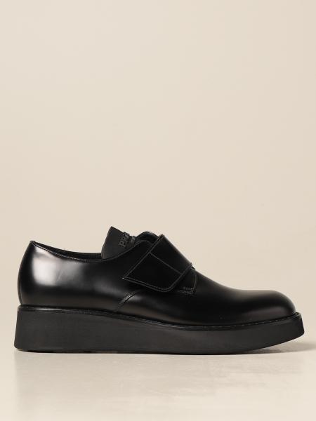 Prada men: Prada shoes in brushed leather