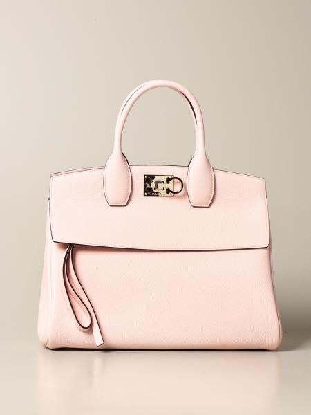 Salvatore Ferragamo: The Studio Salvatore Ferragamo bag in textured leather
