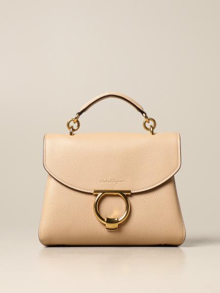 Salvatore Ferragamo: Margot handbag in textured leather
