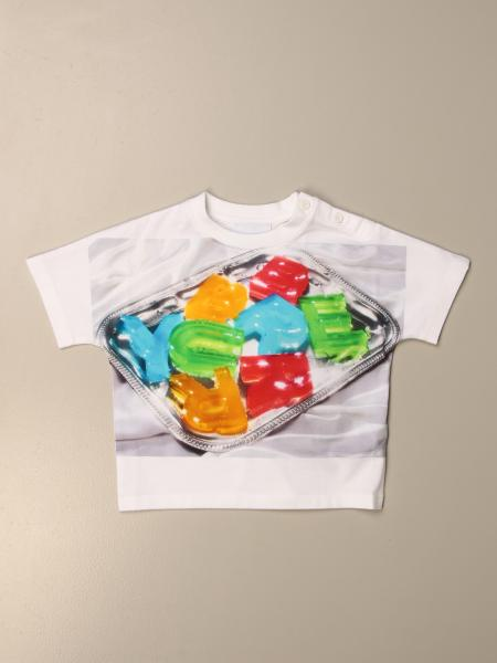 Burberry cotton T-shirt with candy logo