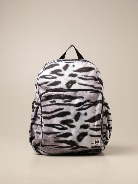 Molo backpack with sustainable animal print