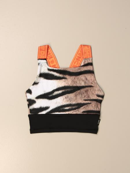 Molo cropped top with branded straps