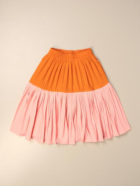 Wide two-tone Molo skirt