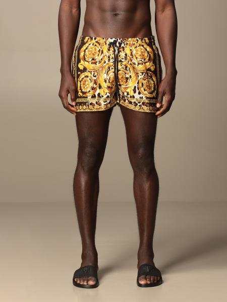Versace boxer costume with baroque print
