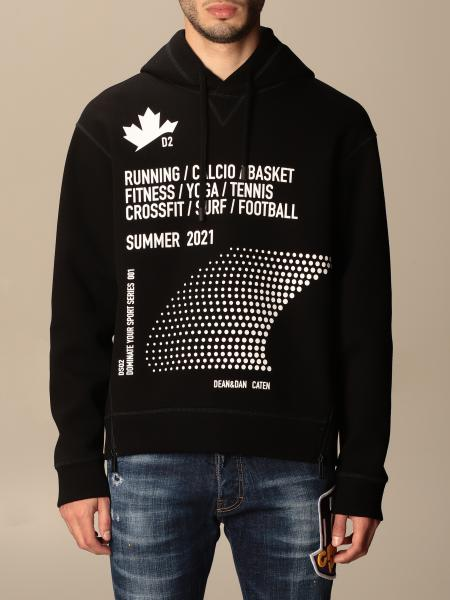 Dsquared2 hoodie with print
