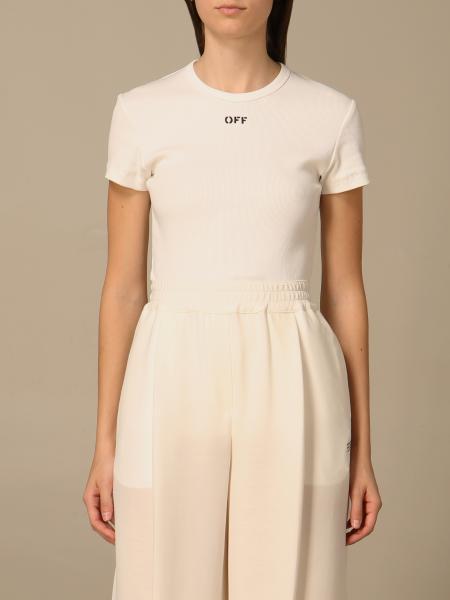 Off White 女士: T恤 女士 Off White