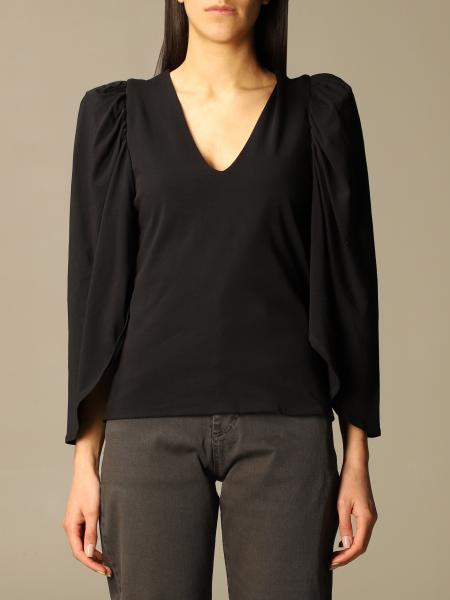 Federica Tosi: T-shirt a v Federica Tosi in cotone