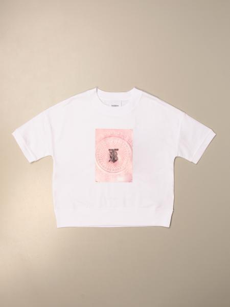 Burberry cotton T-shirt with TB print