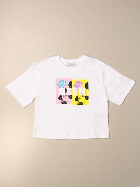 T-shirt kinder Msgm Kids
