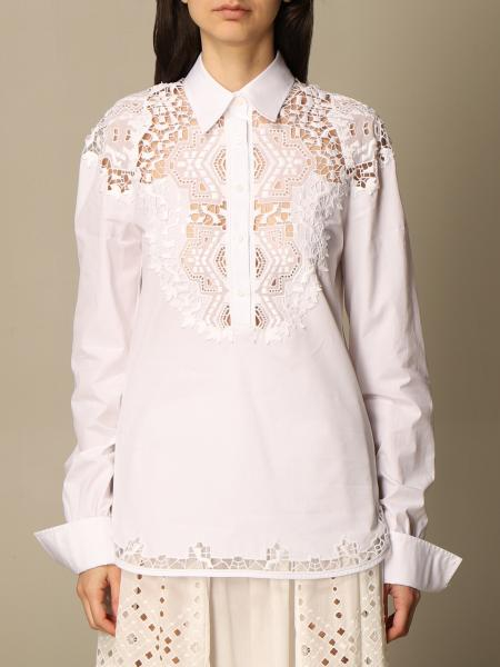 Ermanno Scervino: Ermanno Scervino shirt in cotton with embroidery