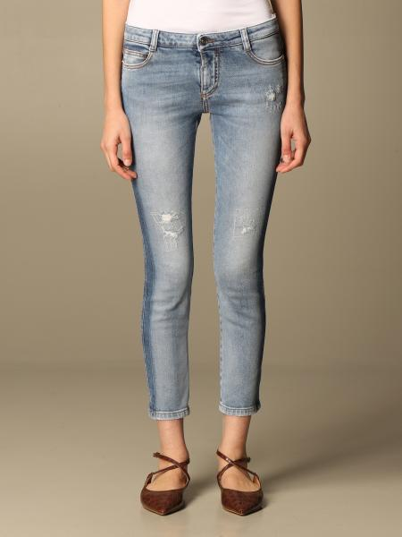 Ermanno Scervino: Ermanno Scervino jeans in denim with tears