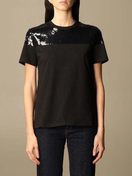 Sportmax: T-shirt femme Sportmax