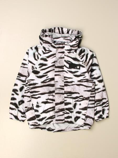 Molo patterned hooded jacket