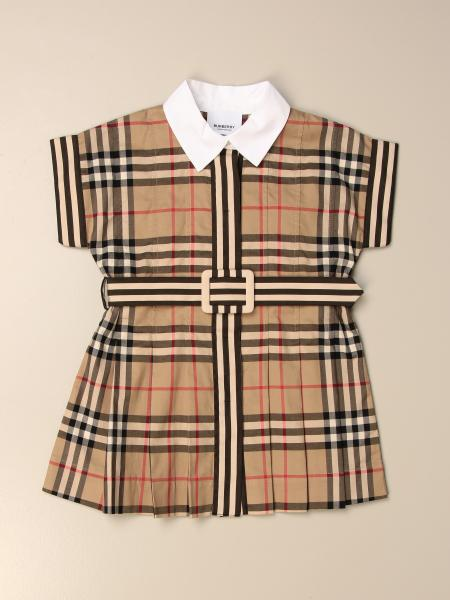 Burberry shirt dress in check cotton