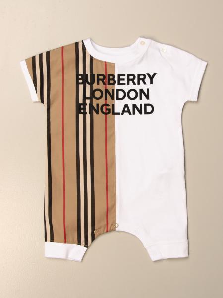 Burberry vintage striped cotton onesie
