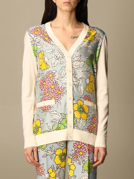 Tory Burch cardigan with floral pattern