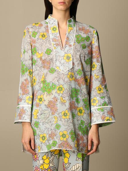 Tory Burch tunic with floral pattern