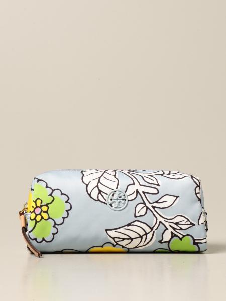 Beauty case Tory Burch in nylon stampato